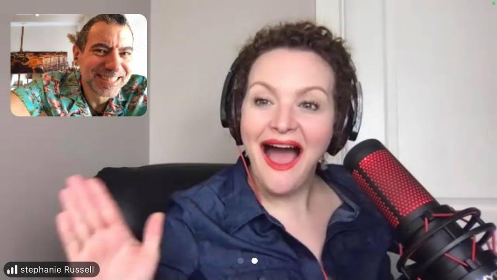 Besh, Stephanie Russell - Woo Woo Podcast